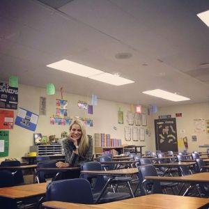 Public Speaking FIDM classroom