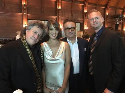 With Raymond DiFelitta, Andy Garcia, and Matt Sivertson