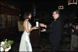 With Vince Giordano. Photo courtesy of Kel Casey/Coronado Eagle-Journal.
