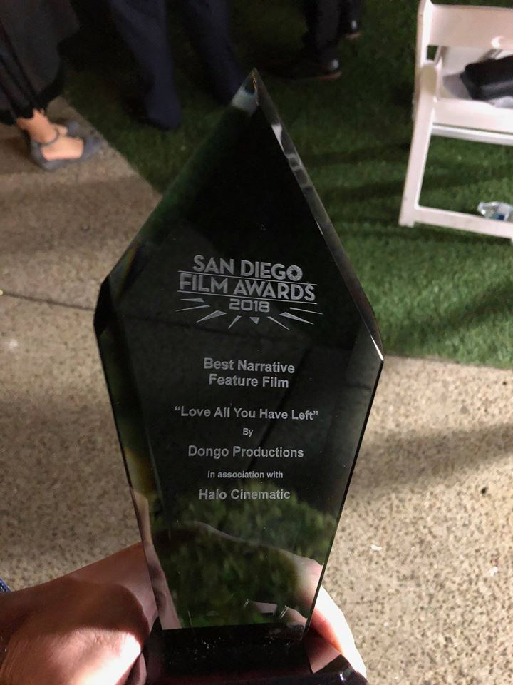 The San Diego Film Award 2018 for Best Narrative Feature Film