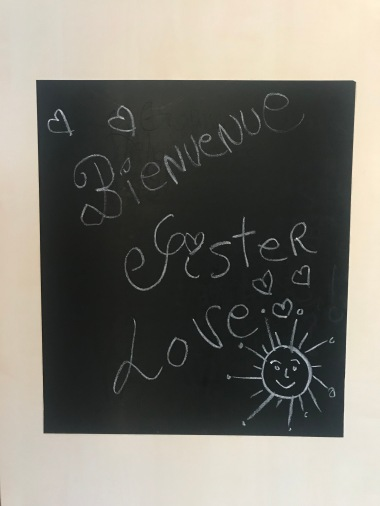 We love chalkboards in my family!