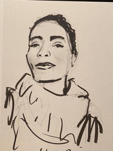 Sketch by Sassa Furlan